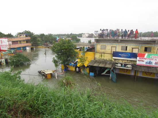 Flooding in Chennai, December 2, 2015