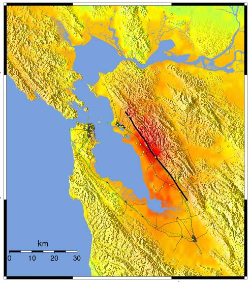"""The Hayward Fault and the Other """"Big One"""" 