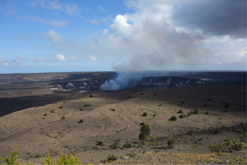 The Caldera of Kilauea