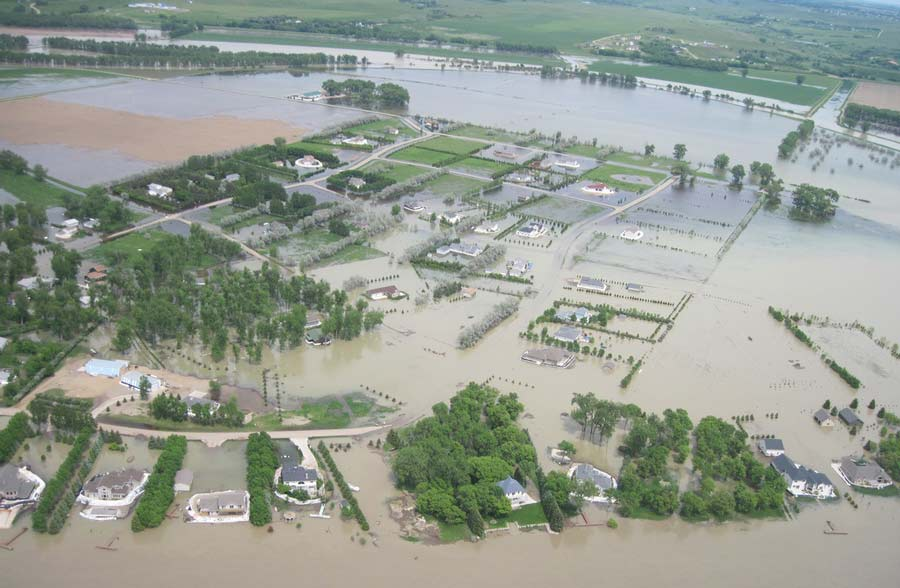 Flooding on the Missouri River