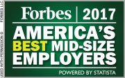 Forbes 2017 American's Best mid-size Employers