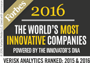 Forbes 2016 World's Most Innovative Companies